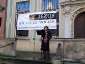 Czytanie Biblii na ulicy