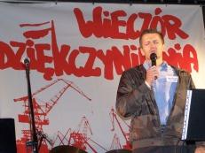 Nabożeństwo Plac Solidarności
